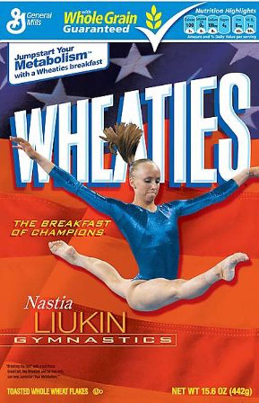 Nastias Wheaties Box WOGA Team News