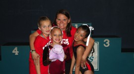 WOGA Acro Team competes in first meet of 2011 season