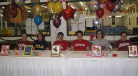WOGA 2006 Senior Signing Parties