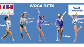 2011 COVERGIRL CLASSIC  TODAY!!!!   WATCH LIVE TV TONIGHT!   See Photo Gallery of WOGA's Elites!