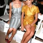 Liukin and Sacramone fashion week