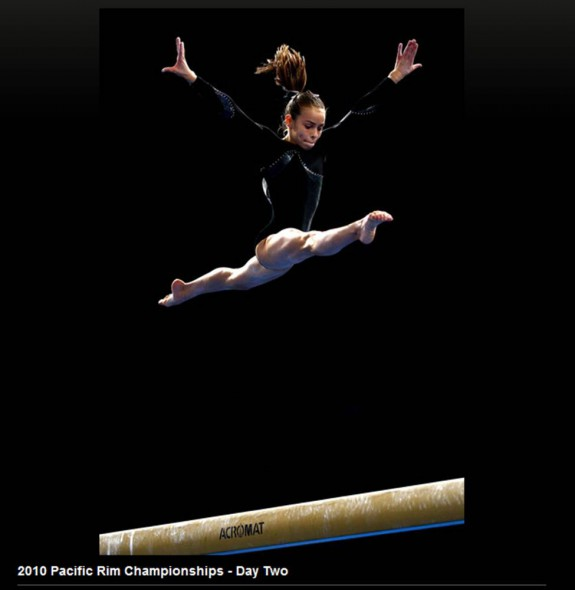 Brittany at 2010 Pacific Rim Championships  11th AA Jr Elite