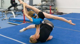 Acro Athletes Attending National Team Training Camp