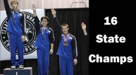 16 State Men's Champions Level 6-10