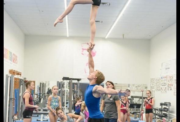 Lydia Webb & Sladen Osborne Qualified Junior Elite